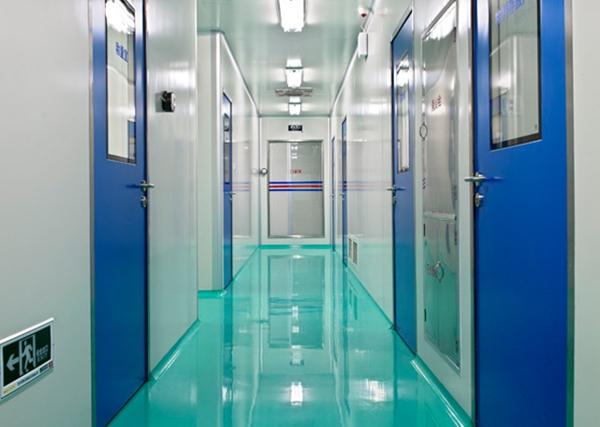 洁净走廊1可配各类功能厂房车间
