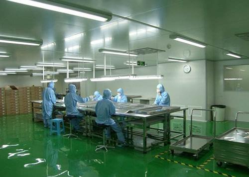 空气净化工程系统处理采用初效、中效、高效空气过滤器!